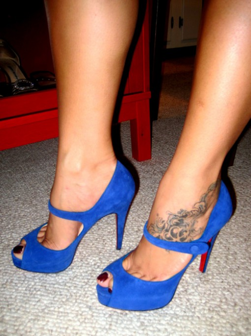 Bow Ankle Tattoo