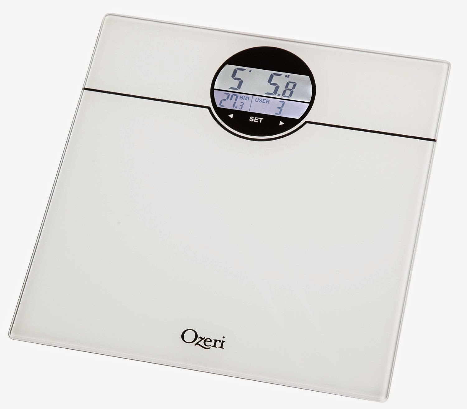 Ozeri WeightMaster Scale Review with BMI