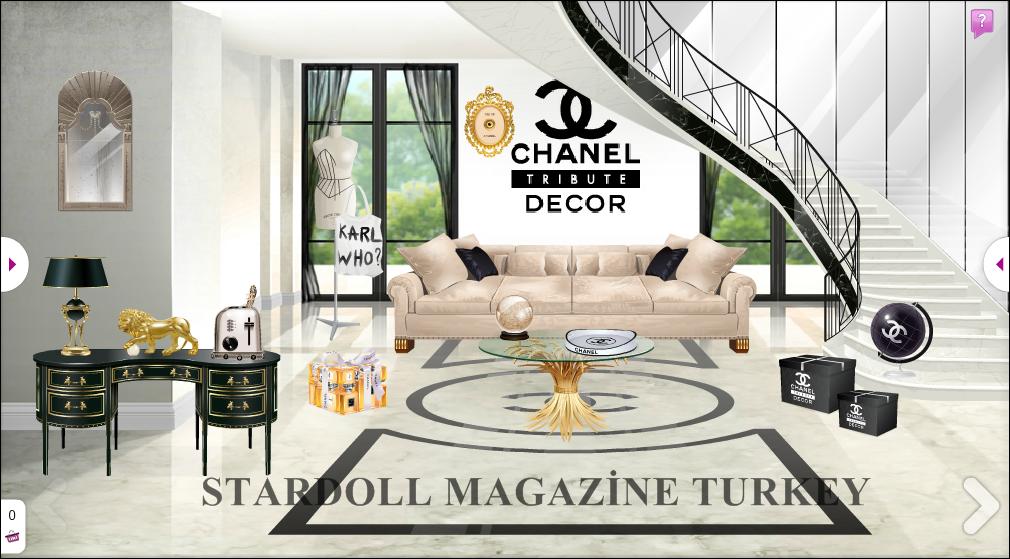 Chanel Tr Bute Dekor Stardoll Magazine Turkey