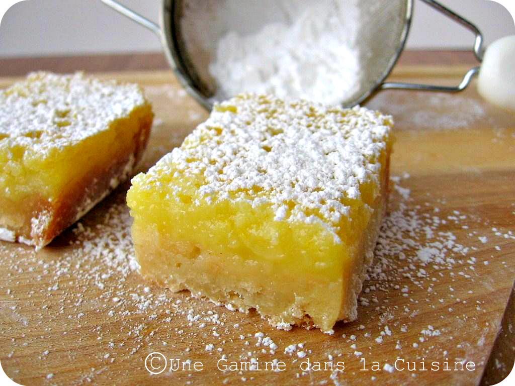 une gamine dans la cuisine: Whole Lemon Bars