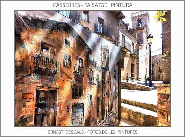 CASSERRES-PINTURA-FOTOS-PAISATGES-PINTURES-CATALUNYA-PINTOR-ERNEST DESCALS-