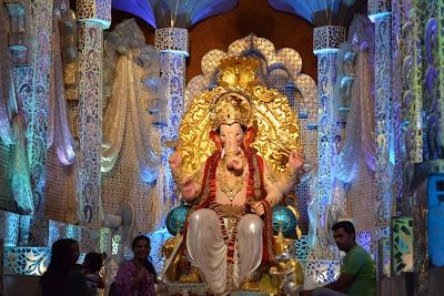 Beautiful Ganesh Chaturthi Decoration Dabgarwad Surat