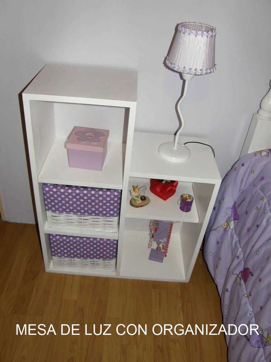 Manualidades en fibrofacil mueble multifunci n for Mueble organizador de 9 cubos