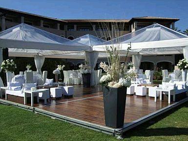 decoracin de bodas al aire libre