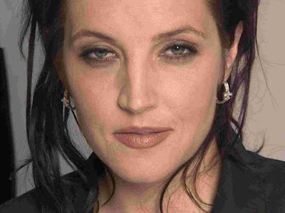 Lisa Marie Presley young Images