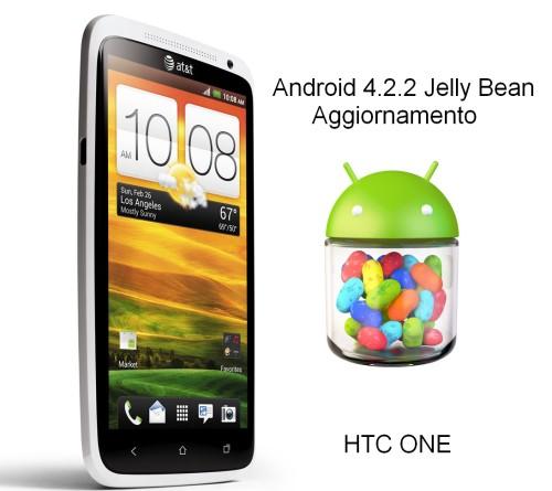 Iniziato a livello mondiale l'aggiornamento ad android 4.2.2 Jelly Bean per lo smartphone Htc One: tante le novità nell'interfaccia e nelle funzioni