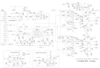 Skema LCD TV SAMSUNG LN-26B350F1 - LN-32B350F1