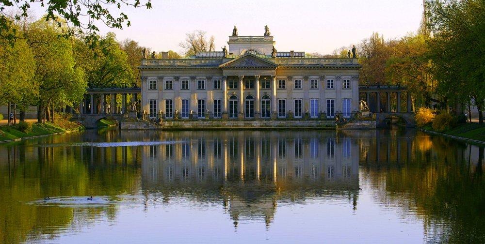Guide varsovie guide varsovie visiter les parcs de varsovie for Parc a visiter