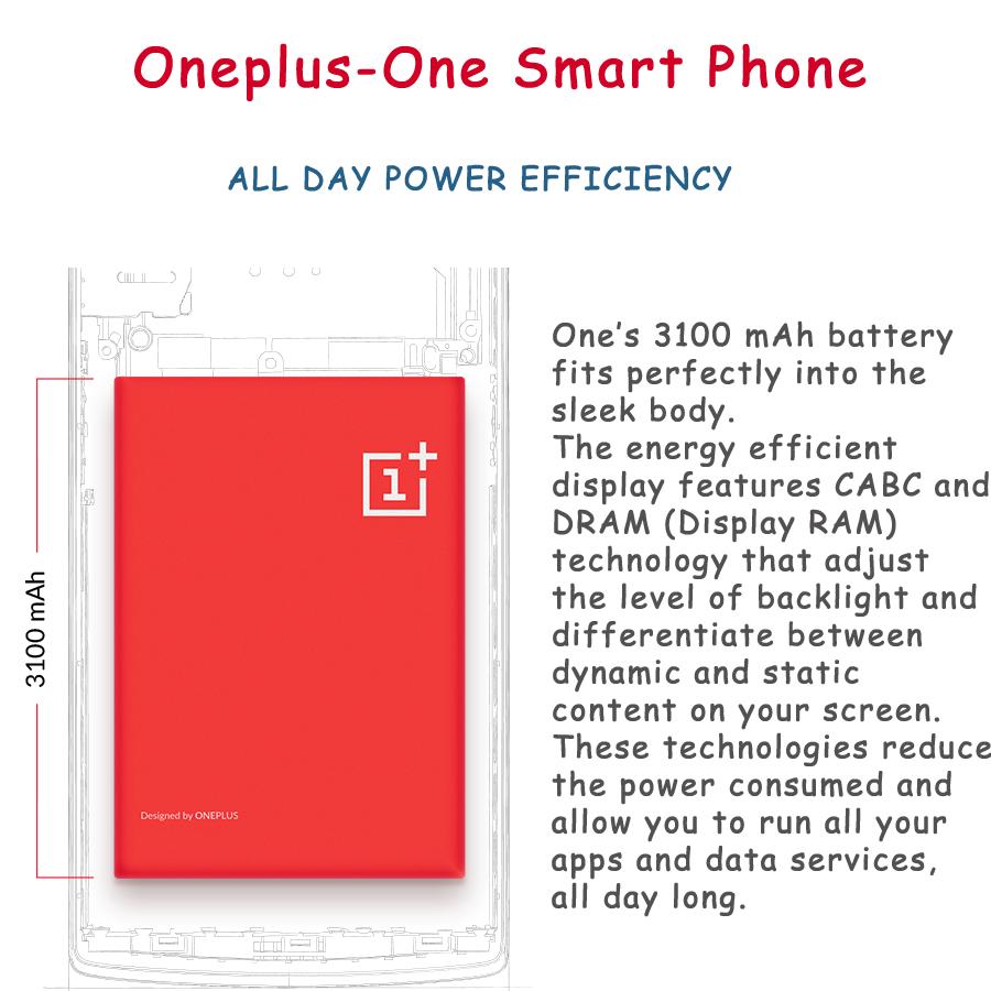 battary of oneplus-one smartphone