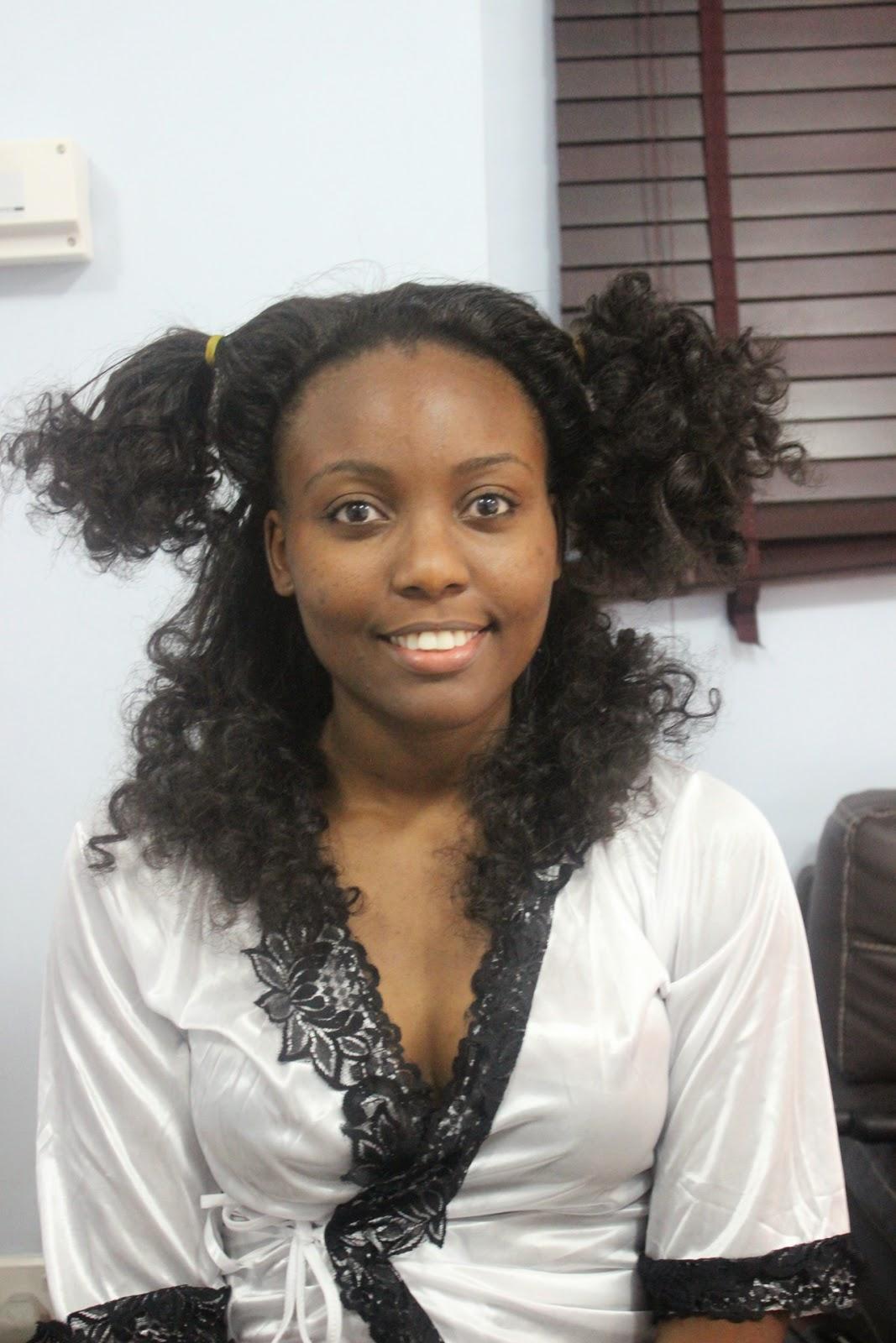 Beautiful Adannas Bridal Maid Of Honour Natural Hair By Uniqueberryhairs