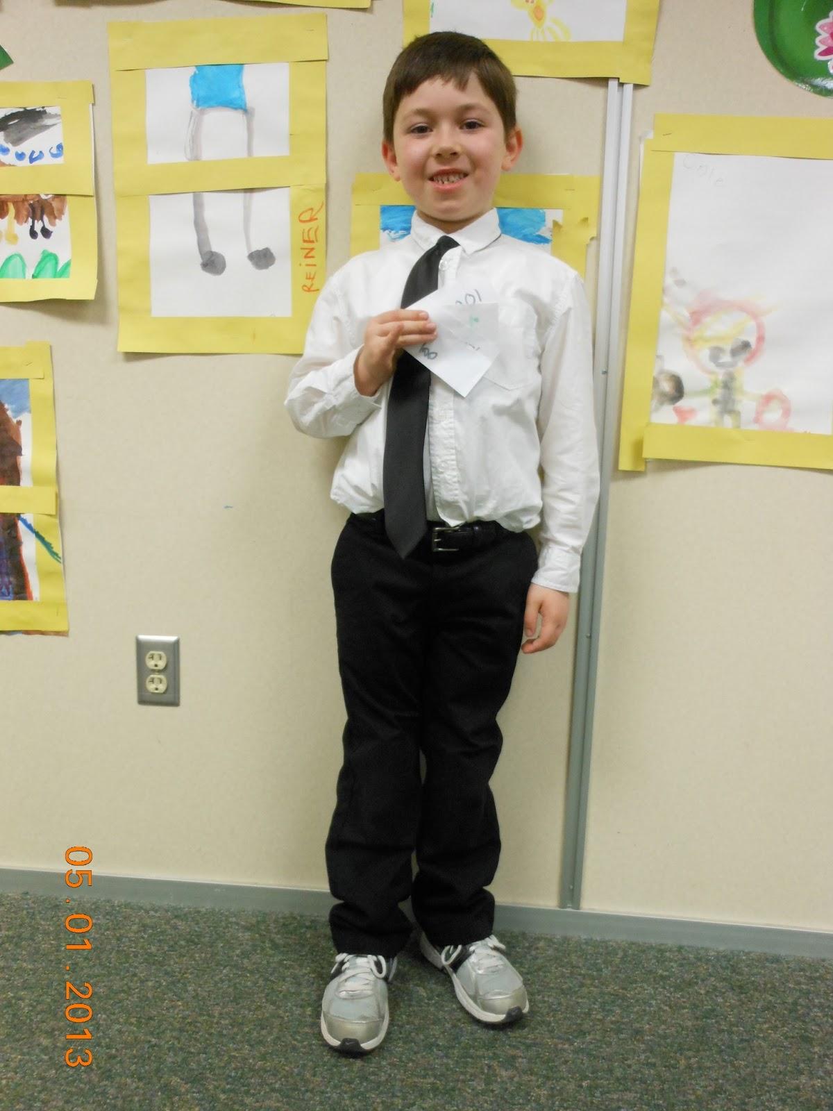 Ms. Tacke's Kindergarten Blog: Career Day!