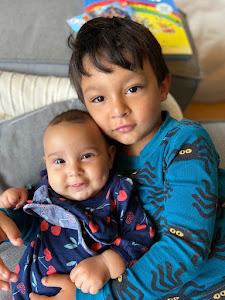 Our Grandkids:  LUIS & AMELIA
