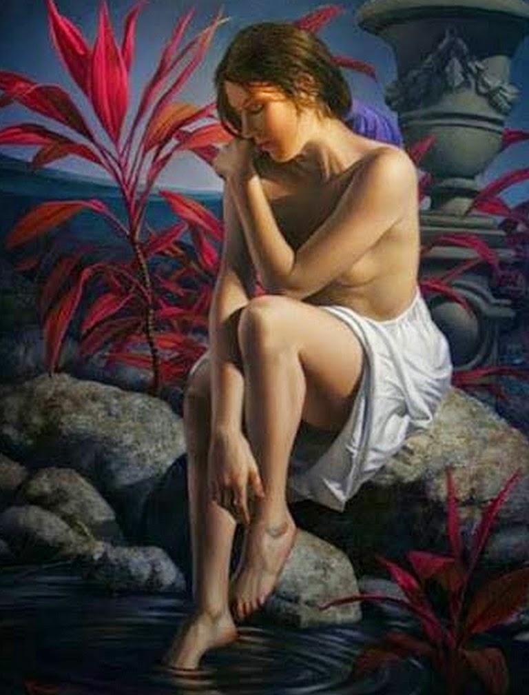 mujeres-en-pinturas-hiperrealistas