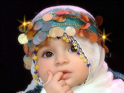 Gambar Anak Kecil Lucu Pake Jilbab