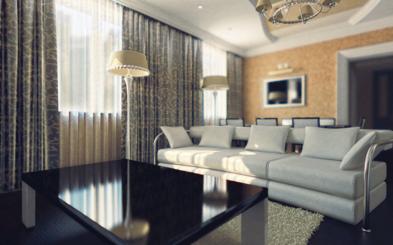 Основная идея дизайна интерьера дома