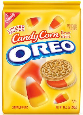 candy corn oreos, halloween cookies
