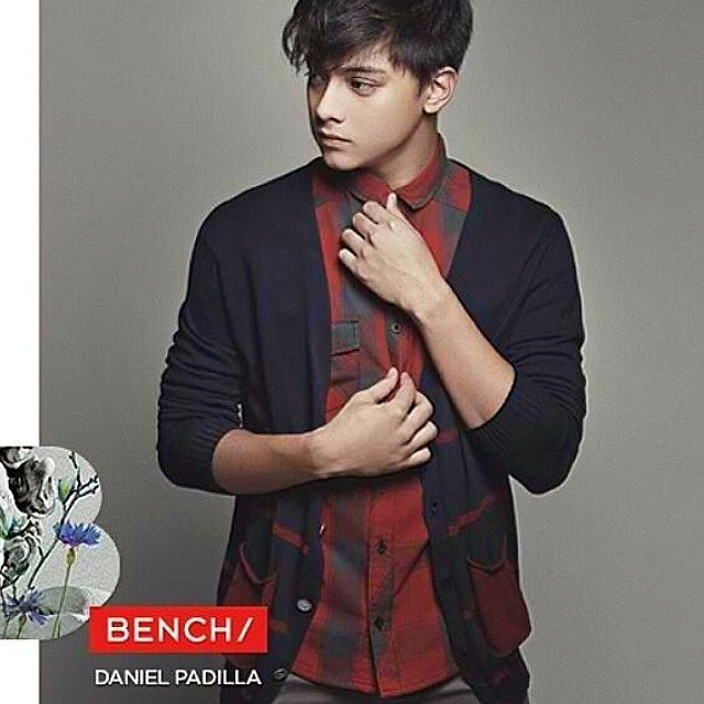 Daniel Padilla is now the newest endorser of Bench ...