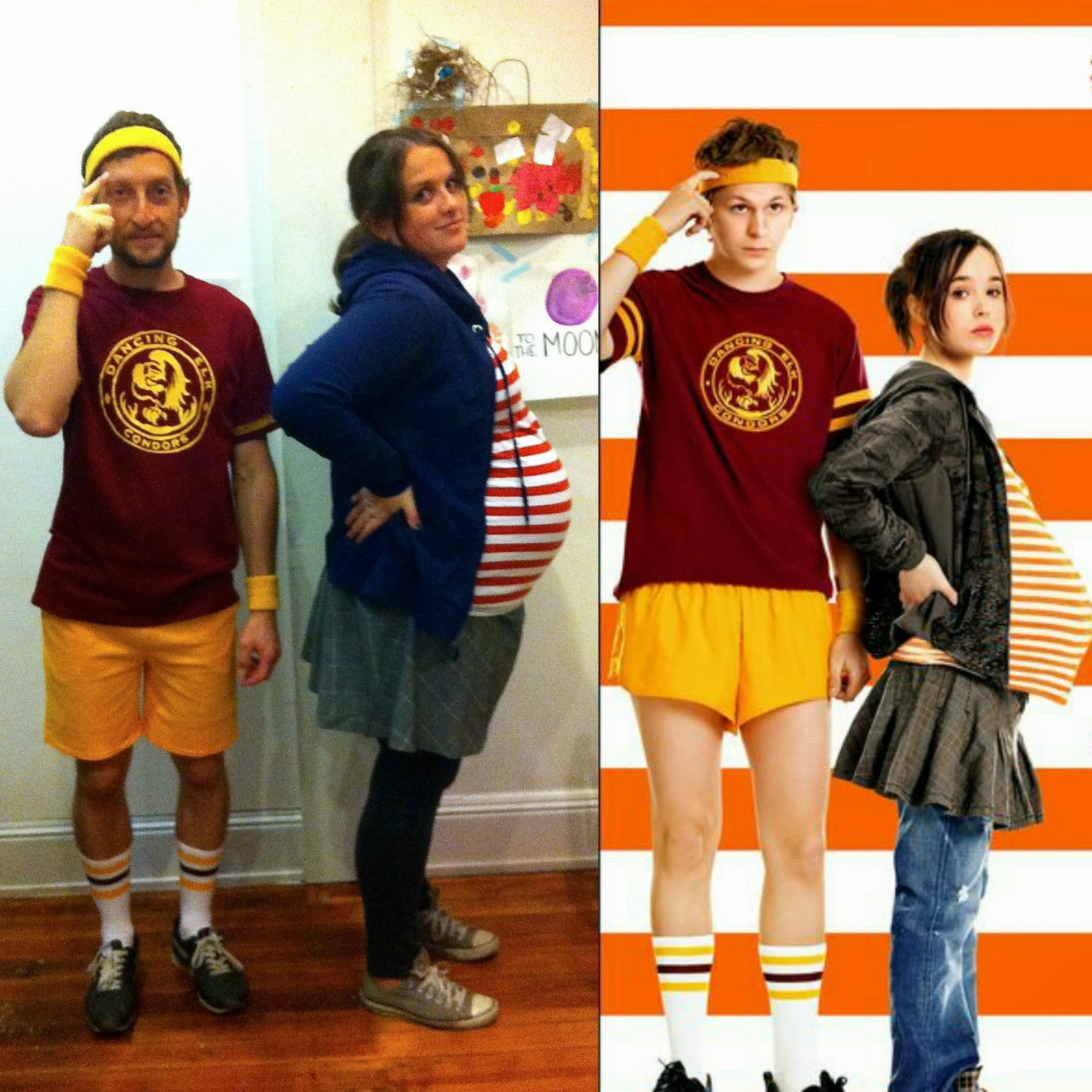 we were juno and paulie bleeker it might have been 5 years too late because it took a while for people to get it and some people thought i was waldo - Juno Halloween