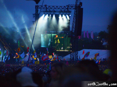 Mick Jagger Glastonbury 2013