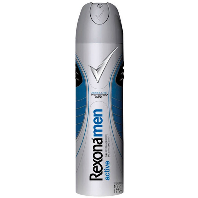 FRASCO DO DESODORANTE REXONAmen, 105g (175ml) AEROSOL