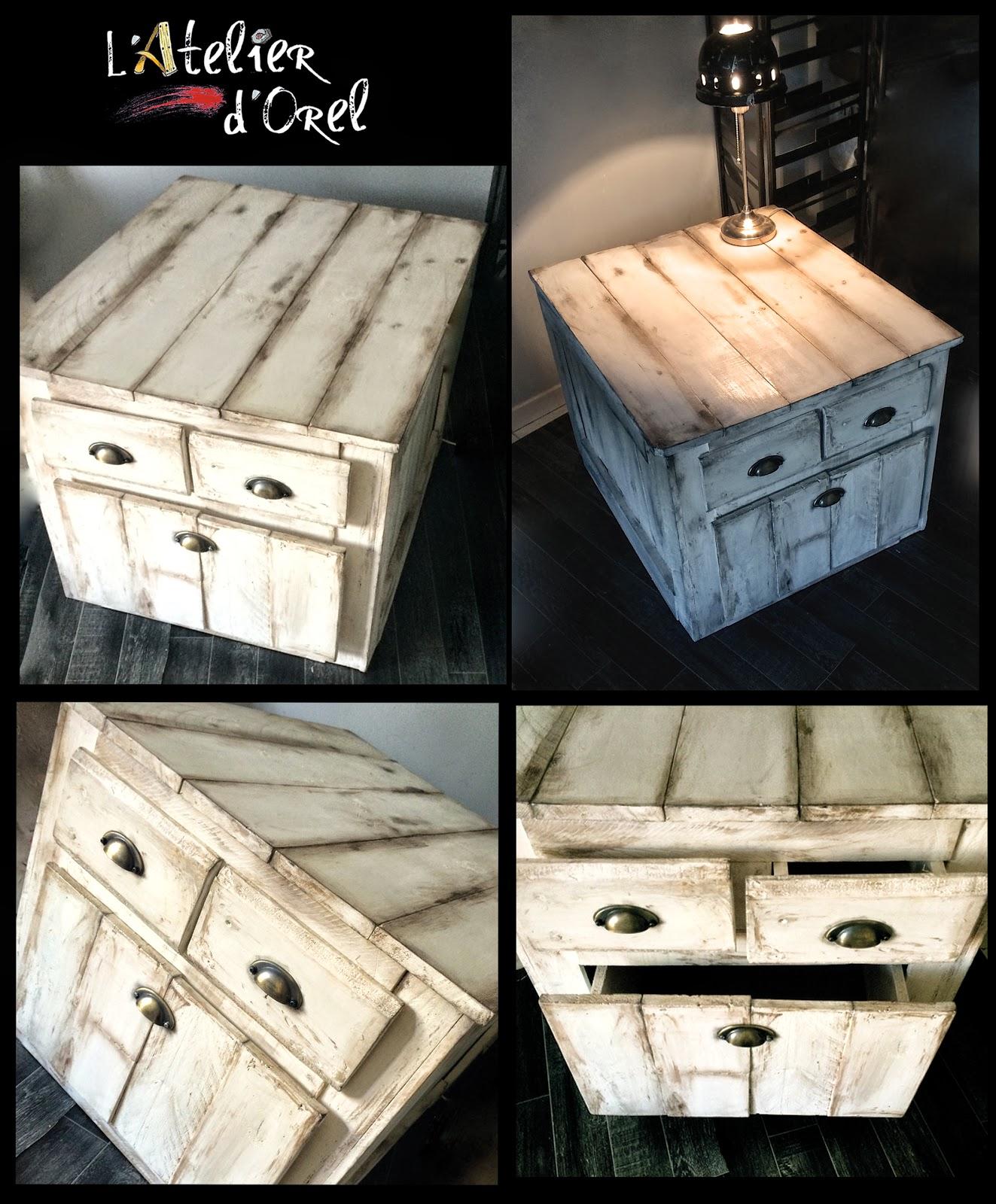 Atelier meuble en palette - Palette meuble ...