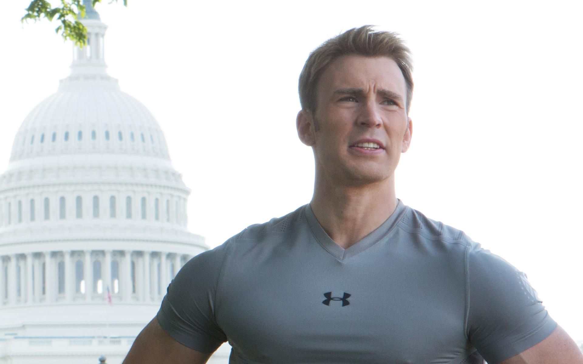 Chris Evans As Steve Rogers Captain America