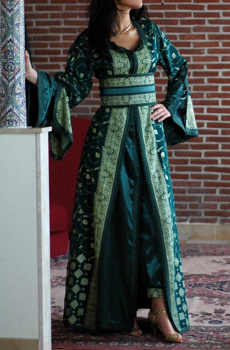 Eloquent Hijabi Beautiful Moroccan Dresses Caftans Top