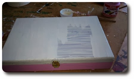Manosmarisa como reciclar una caja de madera paso a paso - Como hacer una caja de madera paso a paso ...