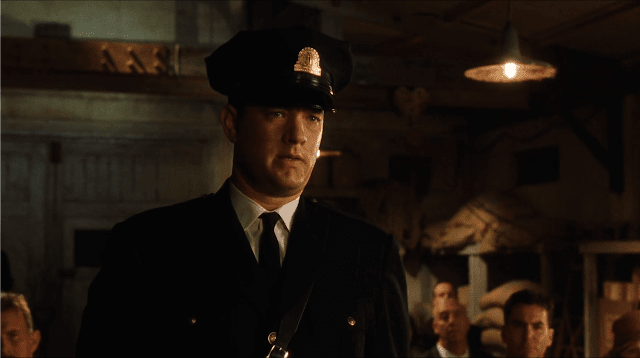tom hanks as Paul Edgecomb in The Green Mile