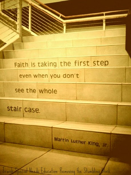 MLK Staircase Quote: Removing the Stumbling Block