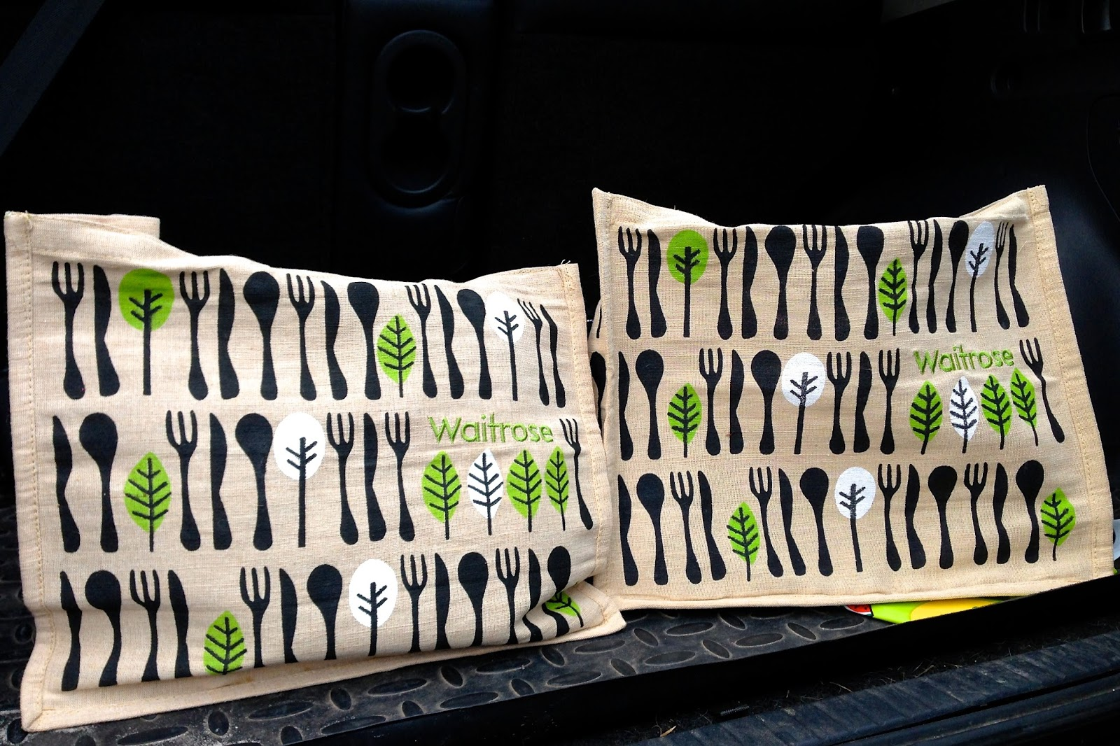 reusable shopping bags from Waitrose