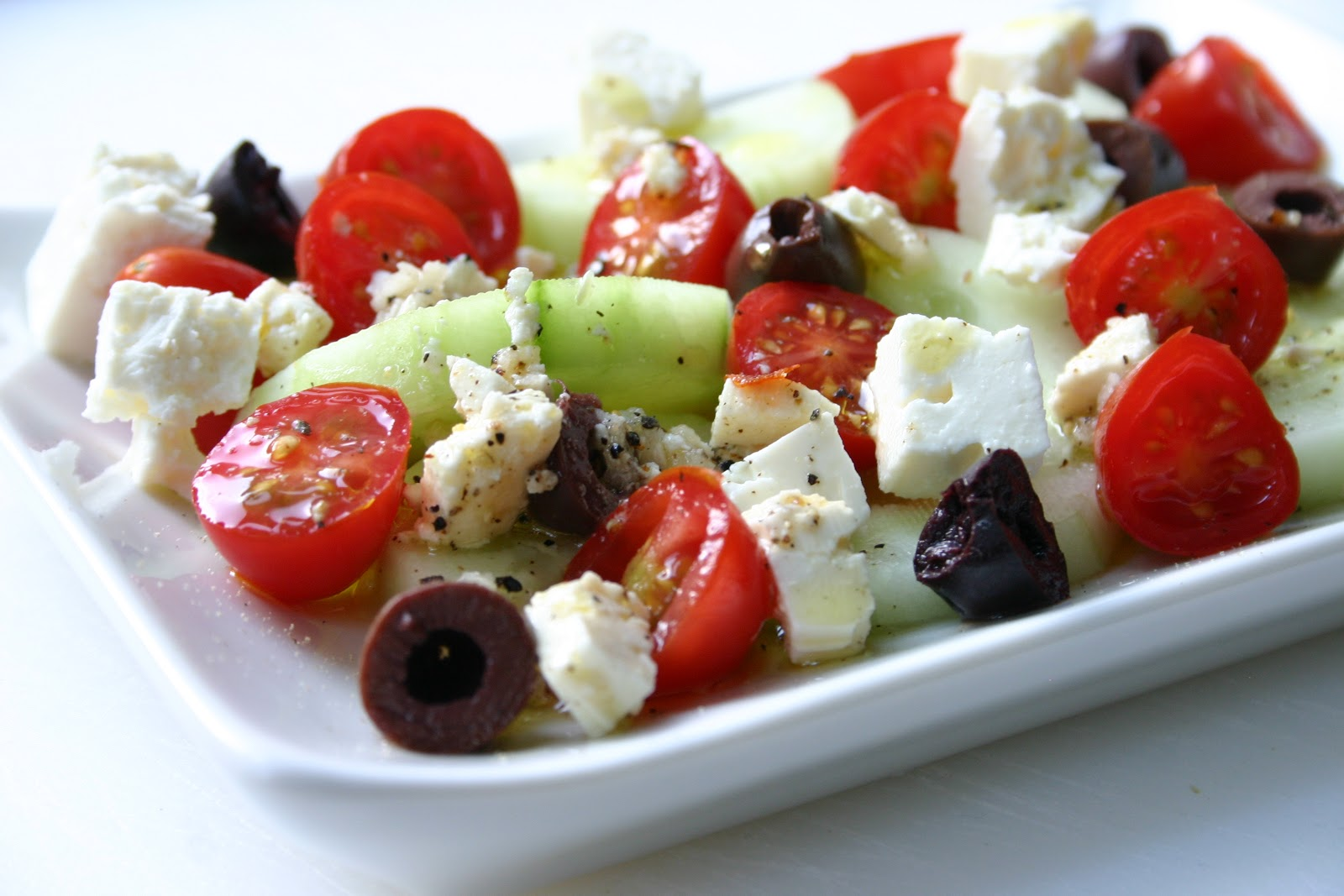 Bake It and Make It with Beth: Better Than a Greek Salad