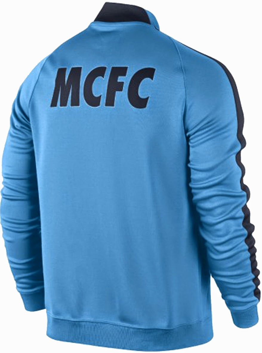Nike Manchester City FC N98 Track Jacket 14-15