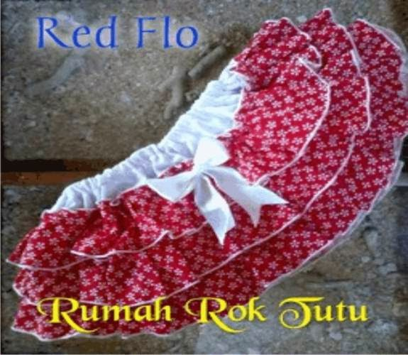 ROK TUTU KATUN : RED FLO