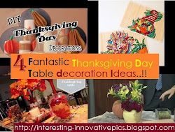 4 Fabulous Thanksgiving day Table decors