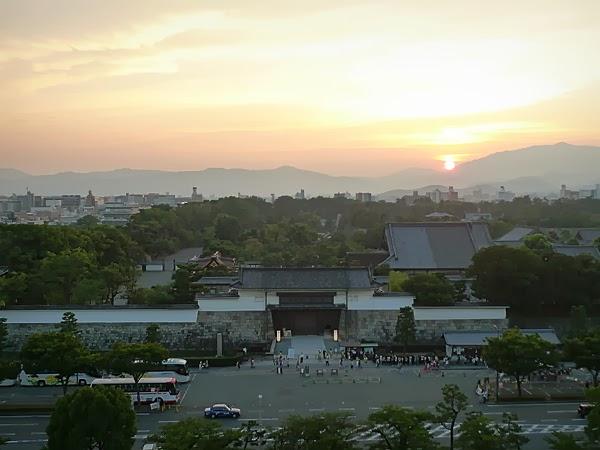 全日空ホテルビアガーデン景色(1)