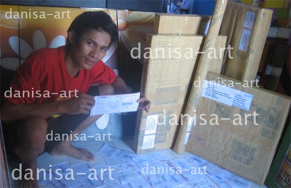 Foto : ( Dani )Bukti Nyata Pengiriman Lukisan