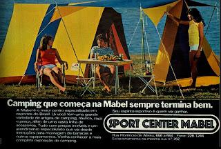 propaganda Sport Center Mabel - 1978