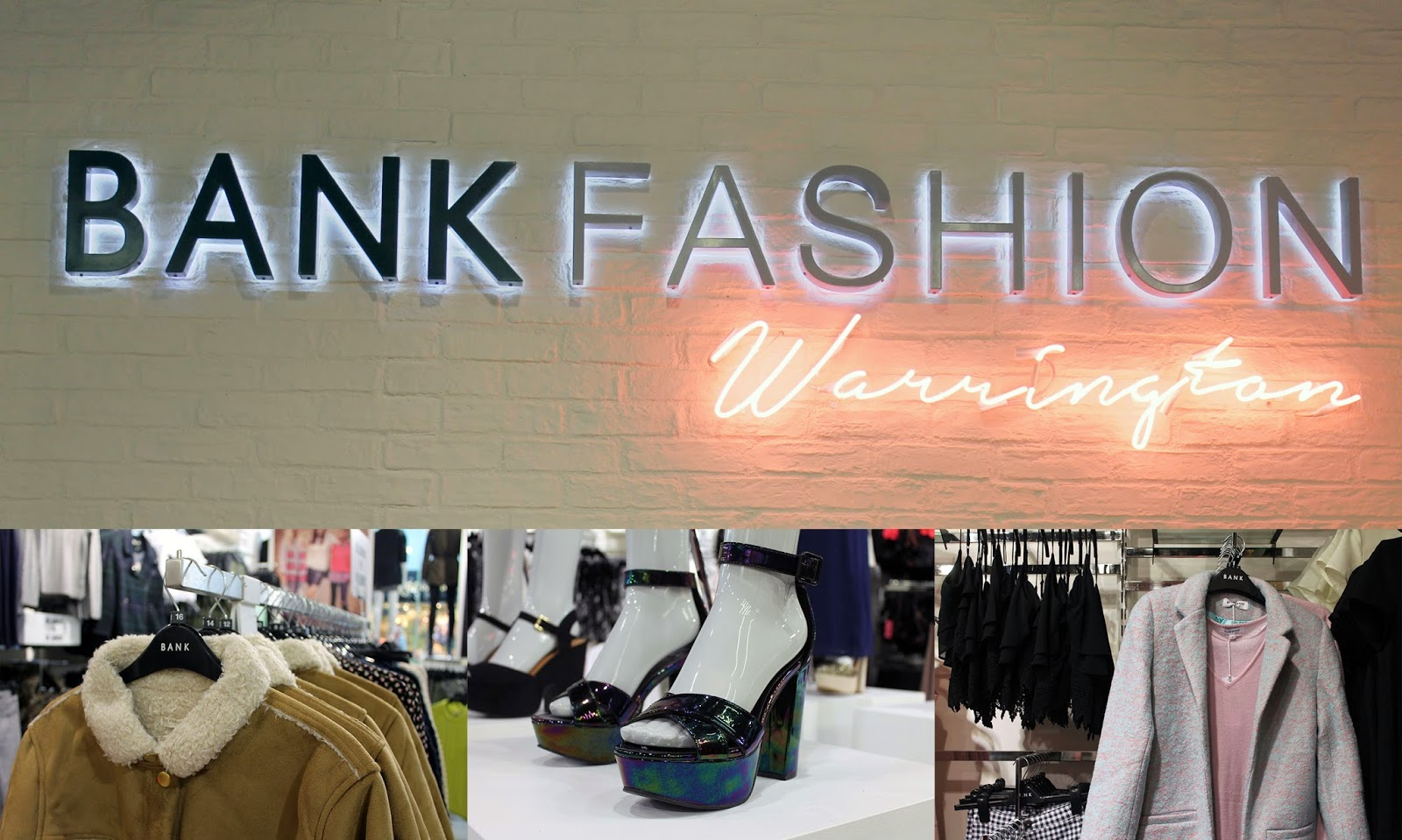 BANK fashion warrington store relaunch #itsagirlthing
