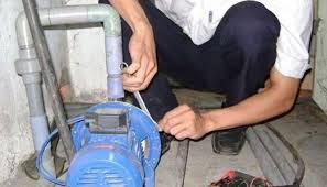 Thợ lắp đặt máy bơm nước gia đình quận ba đình