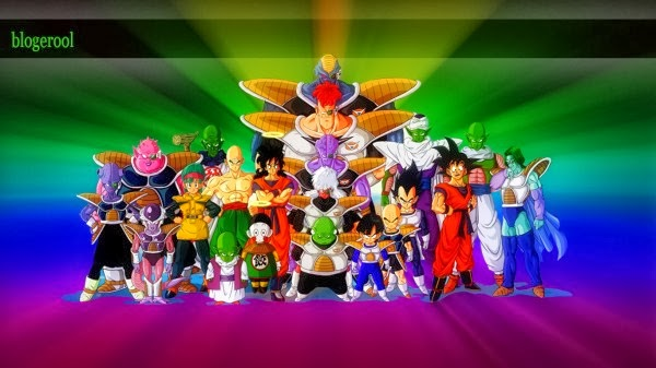 HD wallpaper of dragon ball family
