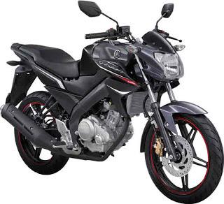 New Yamaha Vixion Hitam Merah 2013