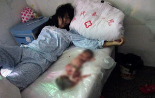 Photos: 7-Month Pregnant Woman Forced Into Labor to Abort Unborn Baby