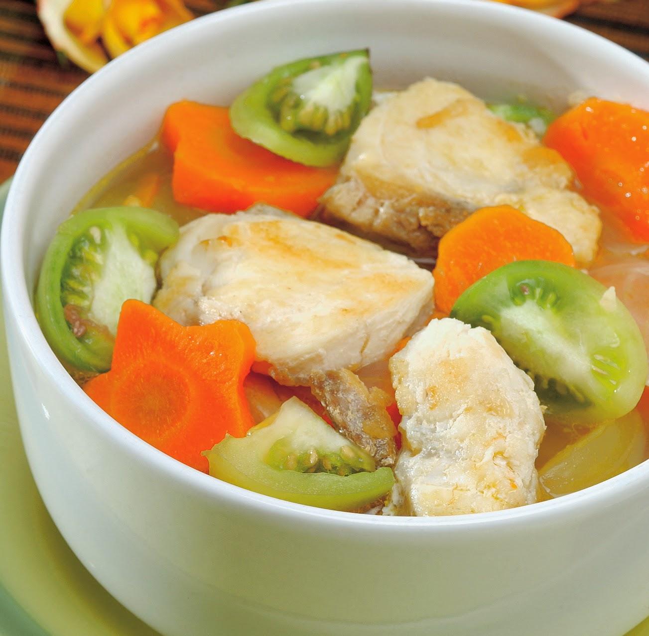 Sup Ikan Mas Tomat Hijau