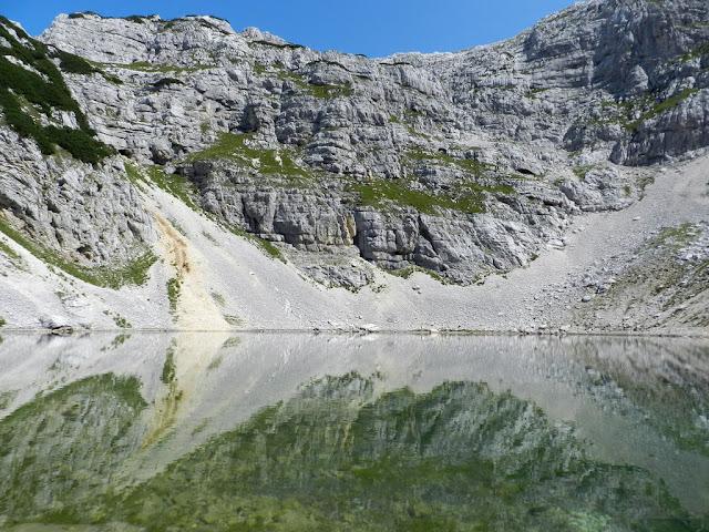 Spodnje Kriško jezero Lago inferiore del Kriz
