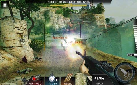 تحميل لعبة القناصة والقتال Kill Shot Bravo 1.2 APK للأندرويد مجاناً