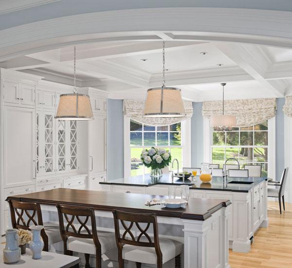 29 Inspiring Malaysian Kitchen Island Styles: Matilda Rose Interiors: Classic White Kitchens