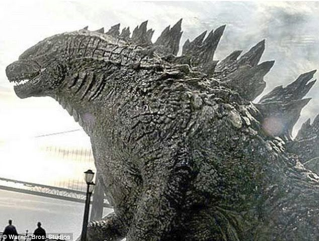 Gambar New Godzilla 2014 Penampakan Terbaru