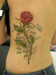 Green Rose Tattoo Meaning