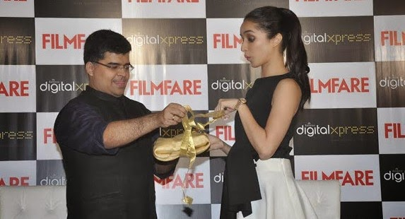 Shraddha Kapoor launched Filmfare Magazine cover
